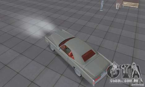 Cadillac Eldorado Convertible 1976 para GTA San Andreas vista direita