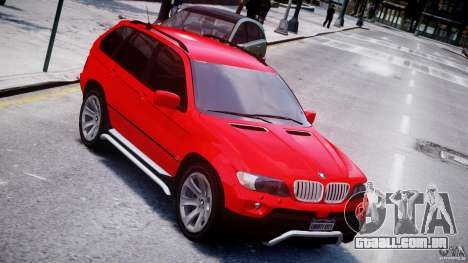 BMW X5 E53 v1.3 para GTA 4 vista superior
