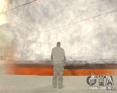Tornado para GTA San Andreas terceira tela