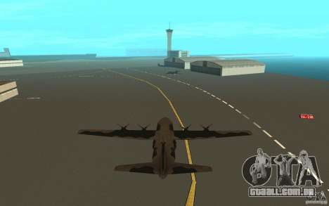 C-130 From Black Ops para GTA San Andreas vista direita