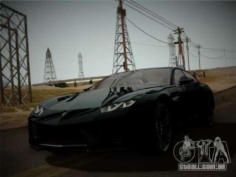Lamborghini Estoque Concept 2008 para GTA San Andreas esquerda vista