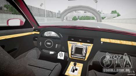 Audi A8 6.0 W12 Quattro (D2) 2002 para GTA 4 vista direita