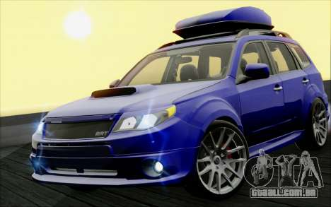 Subaru Forester RRT sport 2008 para GTA San Andreas
