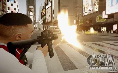 O HK416 (automático) para GTA 4 quinto tela