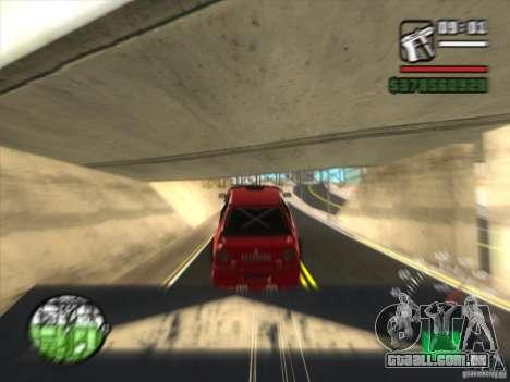 BMW 535 com otpadnym tuning para GTA San Andreas