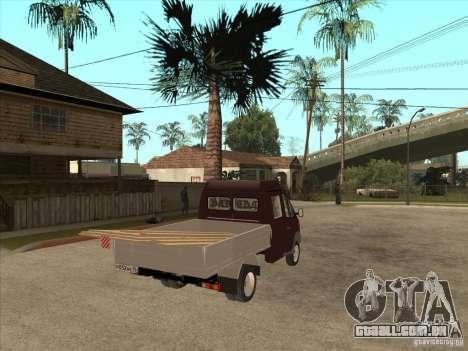 GÁS 33023 para GTA San Andreas vista direita