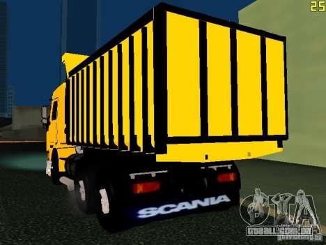 Scania 113H para GTA San Andreas esquerda vista
