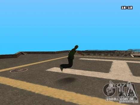 Parkour Mod para GTA San Andreas twelth tela