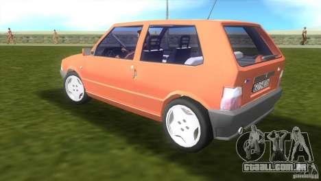 Fiat Uno para GTA Vice City deixou vista