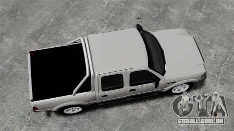 Ford Ranger 2008 XLR para GTA 4 vista direita