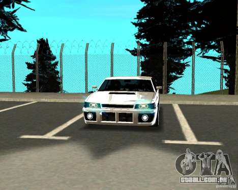 Azik Sultan para GTA San Andreas vista interior