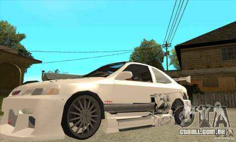 Honda Civic Tuning Tunable para as rodas de GTA San Andreas