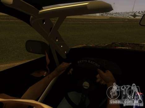 Nissan 240sx Street Drift para GTA San Andreas vista superior