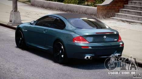 BMW M6 2010 v1.5 para GTA 4 vista lateral