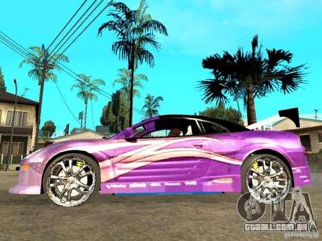 Mitsubishi Spider para GTA San Andreas esquerda vista