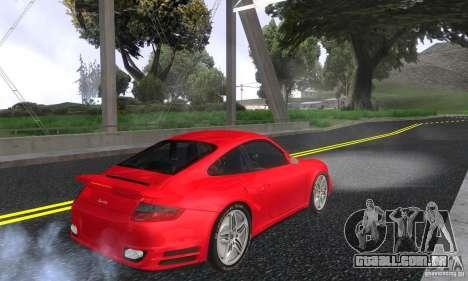Color Correction para GTA San Andreas quinto tela
