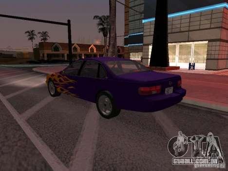 Chevrolet Impala SS 1995 para o motor de GTA San Andreas