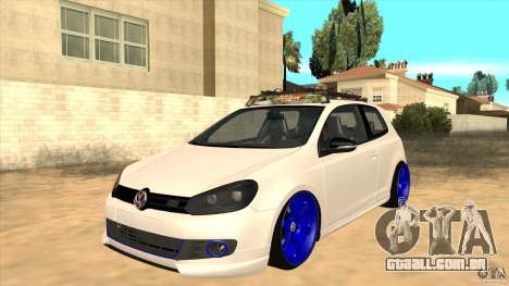 Volkswagen Golf MK6 Hybrid GTI JDM para GTA San Andreas