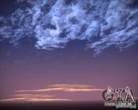 Real Clouds HD para GTA San Andreas décima primeira imagem de tela
