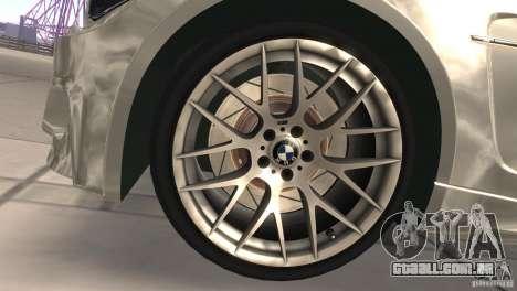 BMW 1M E82 Coupe 2011 V1.0 para GTA San Andreas vista interior