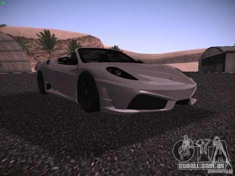 Ferrari F430 Scuderia M16 para GTA San Andreas esquerda vista
