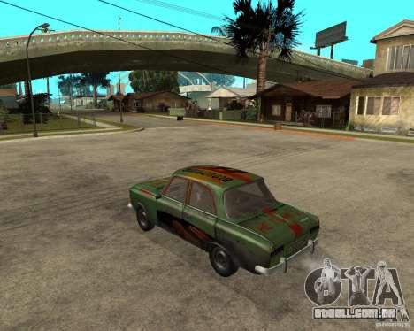 Bloodring Moskvich 412 para GTA San Andreas esquerda vista