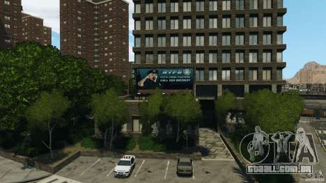 Remake second police station para GTA 4 segundo screenshot