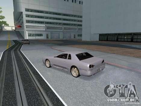 Elegy HD para GTA San Andreas vista traseira