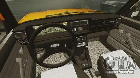 Vaz-2107 para GTA 4 vista direita