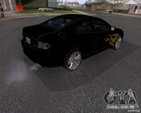 Vauxhall Monaco VX-R para GTA San Andreas vista direita