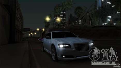 Chrysler 300C V8 Hemi Sedan 2011 para GTA San Andreas vista superior