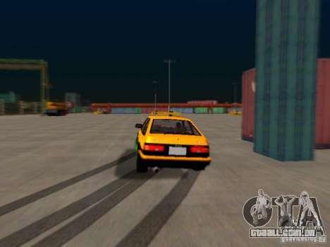 Toyota Corolla Carib AE86 para GTA San Andreas vista traseira