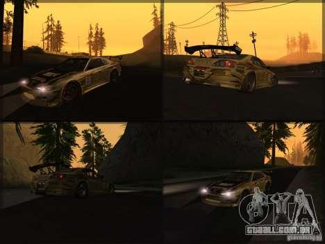 Nissan Silvia S15: Kei Office D1GP para GTA San Andreas vista direita