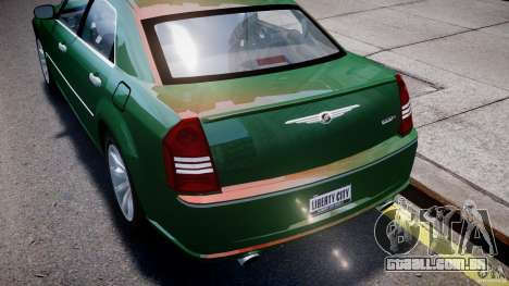 Chrysler 300C SRT8 Tuning para GTA 4 motor