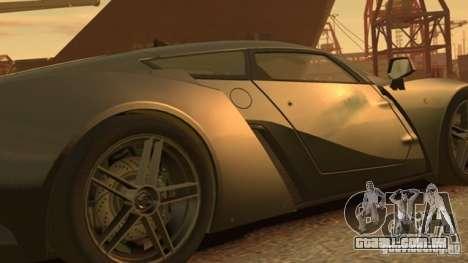 Marussia B2 2012 para GTA 4 esquerda vista