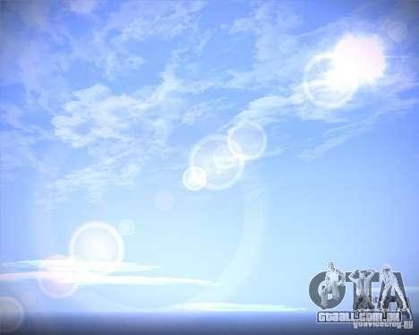Real Clouds HD para GTA San Andreas segunda tela