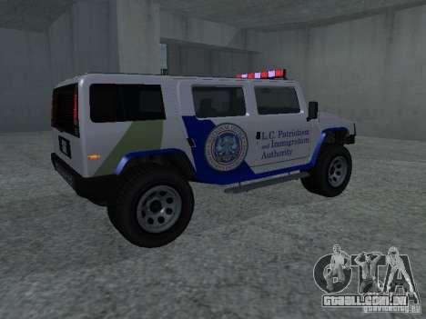 LAÇO patriota de GTA 4 para GTA San Andreas