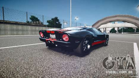 Ford GT1000 2006 Hennessey [EPM] STREET BURNING para GTA 4 vista lateral