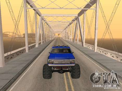 Off-Road v 2.0 de rota para GTA San Andreas sexta tela
