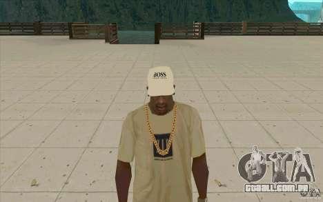 Chefe branco Cap para GTA San Andreas