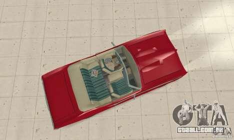 Pontiac GTO The Judge Cabriolet para GTA San Andreas vista direita