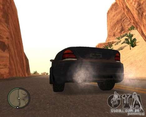 Feltzer do GTA 4 para GTA San Andreas esquerda vista
