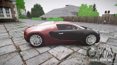Bugatti Veyron 16.4 v3.0 2005 [EPM] Machiavelli para GTA 4 vista interior