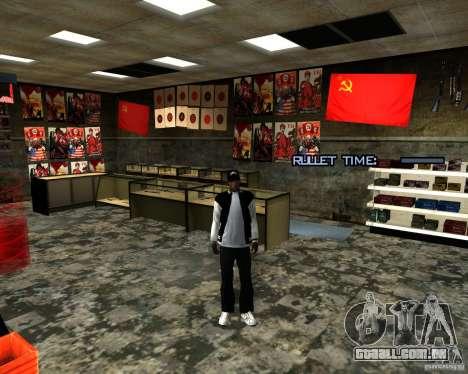 Armazena a reestruturação para GTA San Andreas sétima tela