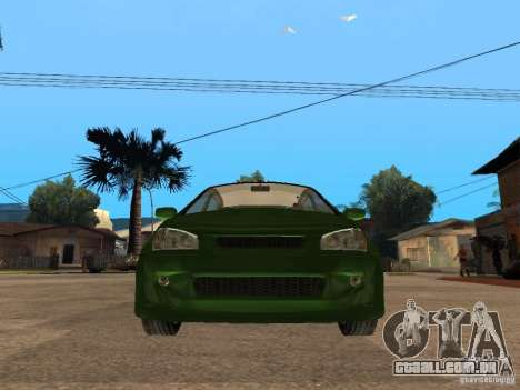 Lada Kalina Sport Tuning para GTA San Andreas vista direita