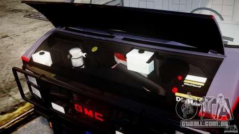 GMC Vandura A-Team Van 1983 para GTA 4 vista direita