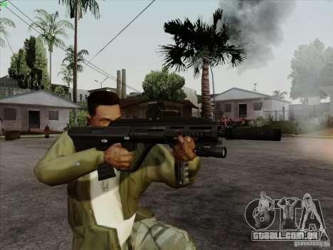 AUG-A3 Special Ops Style para GTA San Andreas quinto tela