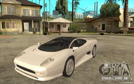 Jaguar XJ 220 para GTA San Andreas
