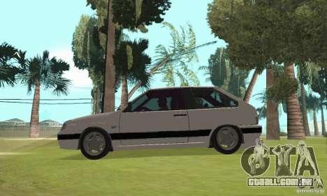 VAZ 2113 LSP Tuning para GTA San Andreas vista direita