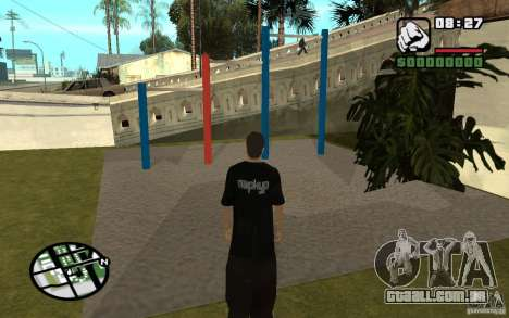 Barras horizontais para GTA San Andreas